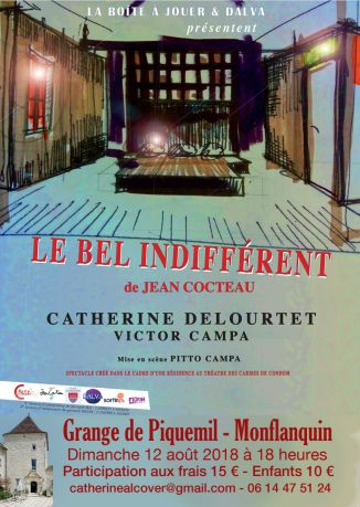 Spectacle LE BEL INDIFFERENT